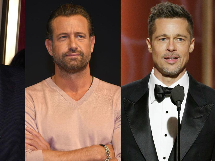 Ben Affleck, Gabriel soto y Brad Pitt