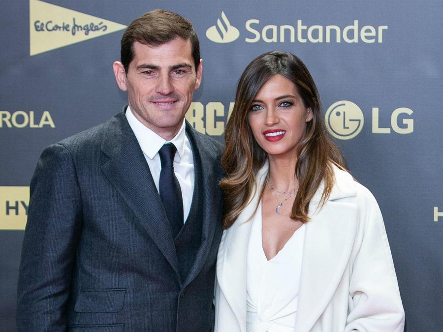 Iker Casillas con Cara Carbonero, diciembre de 2018