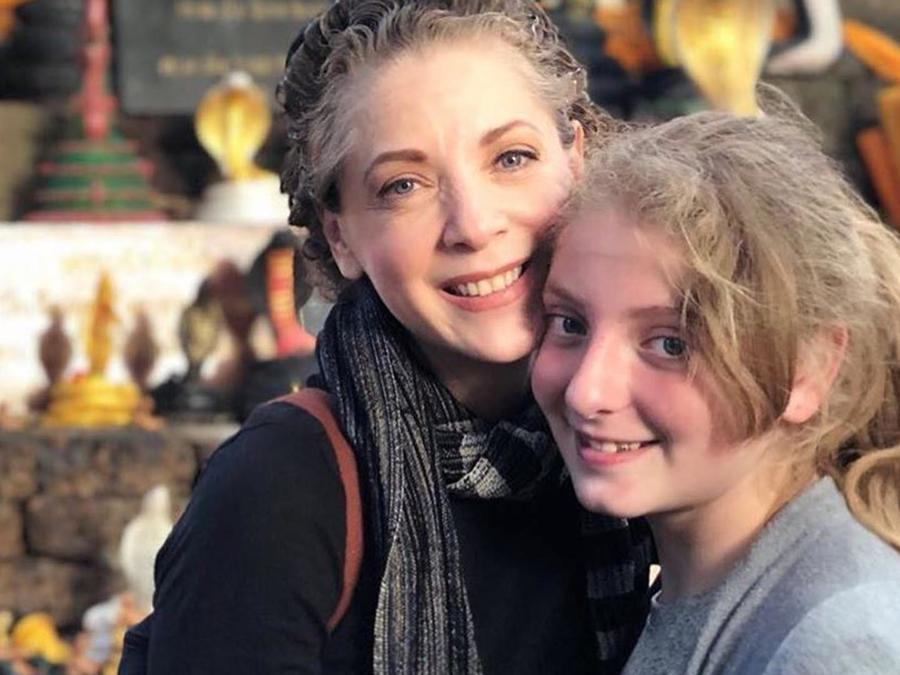 Edith González y su hija Constanza Creel González