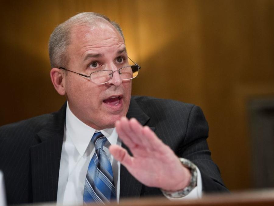 El director interino del Servicio de Inmigración y Control de Aduanas, Mark Morgan.
