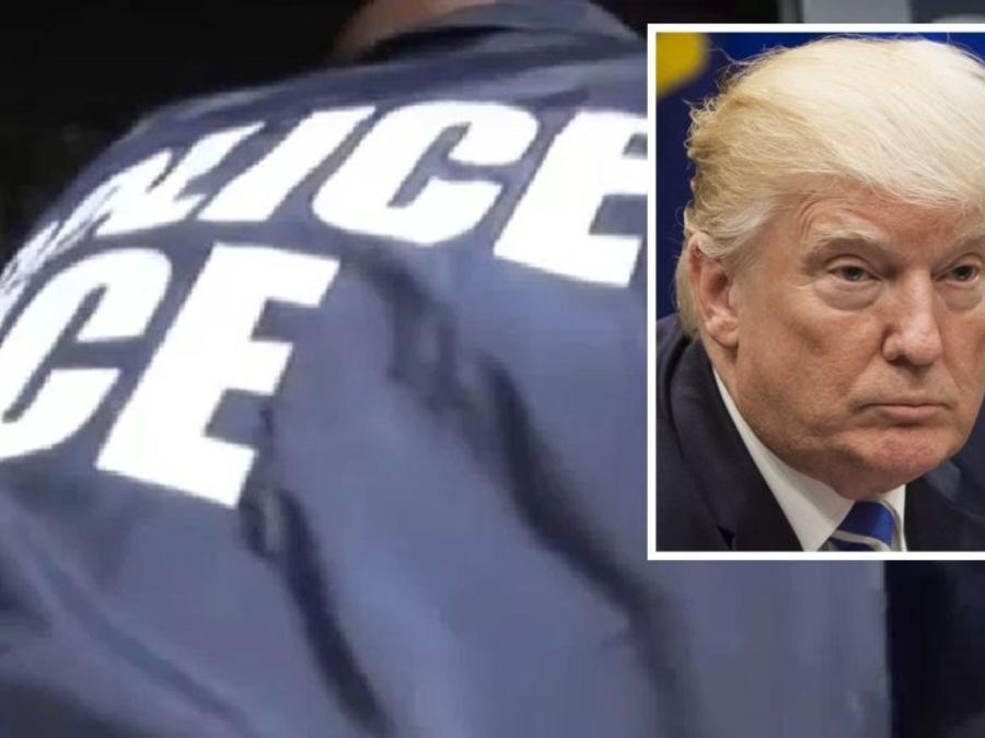 El presidente Trump anuncia redadas masivas