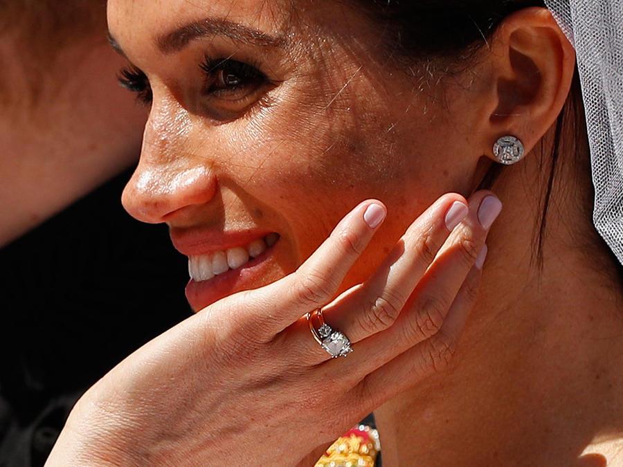Meghan Markle anillo de boda