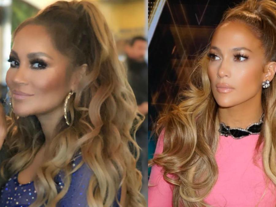 Connie Peña y Jennifer Lopez
