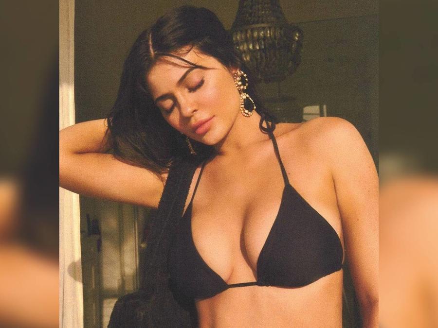 Kylie Jenner en bikini
