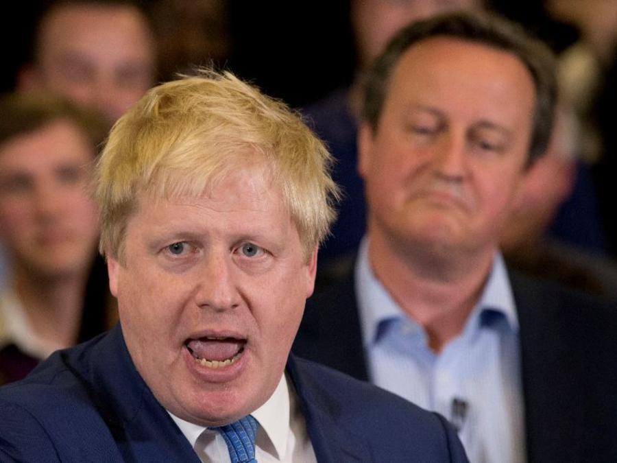 El ex alcalde de Londres, Boris Johnson, en una foto de archivo.