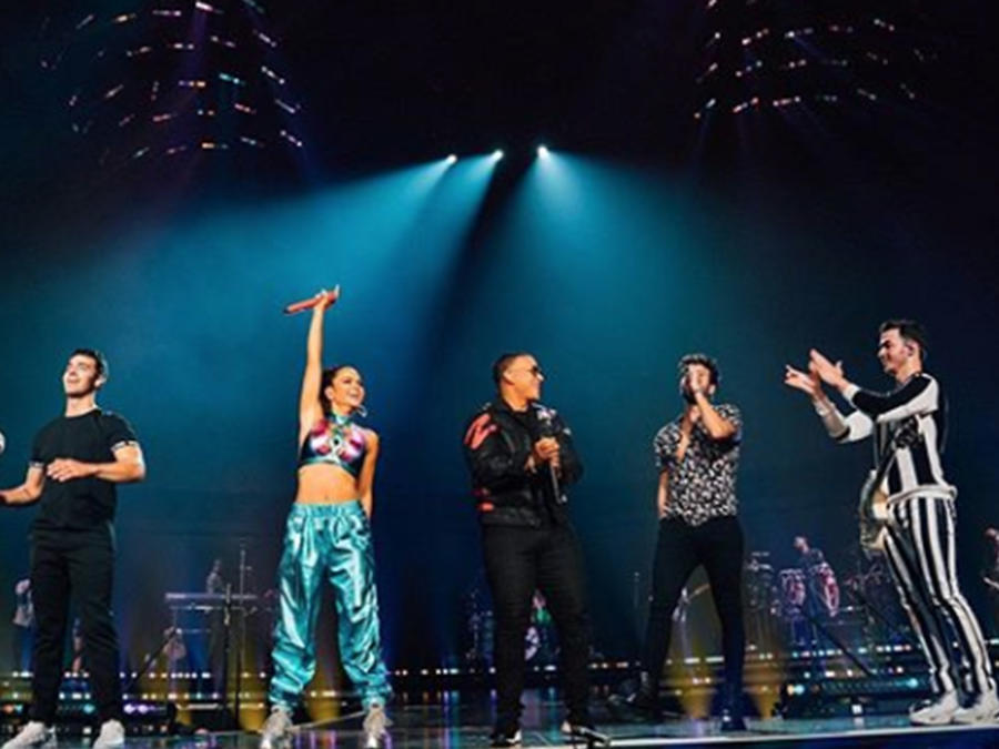 Sebastian Yatra, Natti Natasha & Daddy Yankee Join the Jonas Brothers on Stage in Miami
