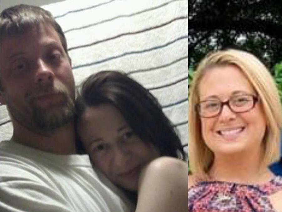 Brent y Ashley Walker, antes y después de dejar las drogas