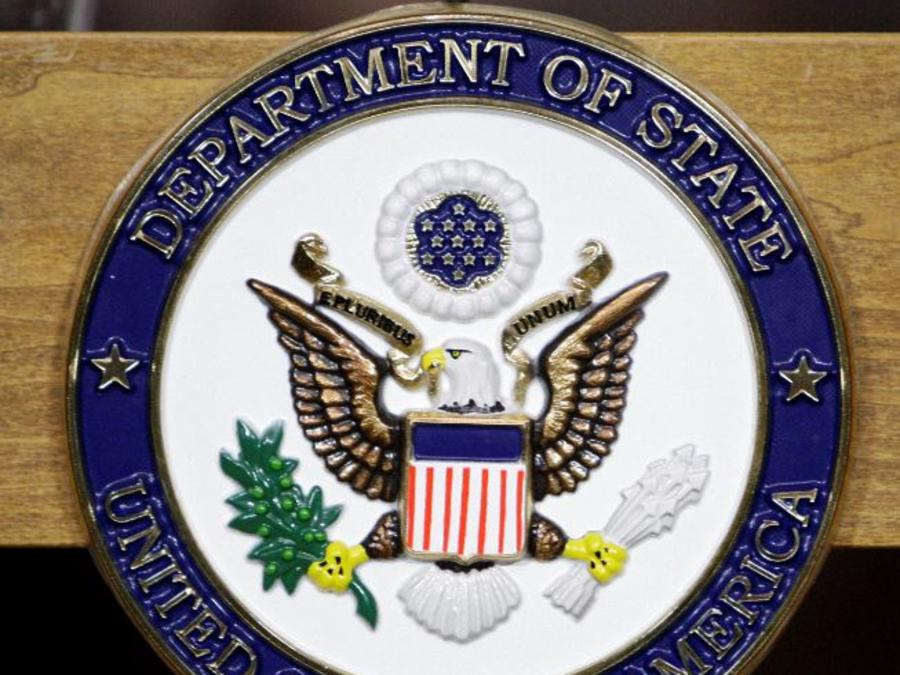 Una foto de archivo del Departamento de Estado en Washington.