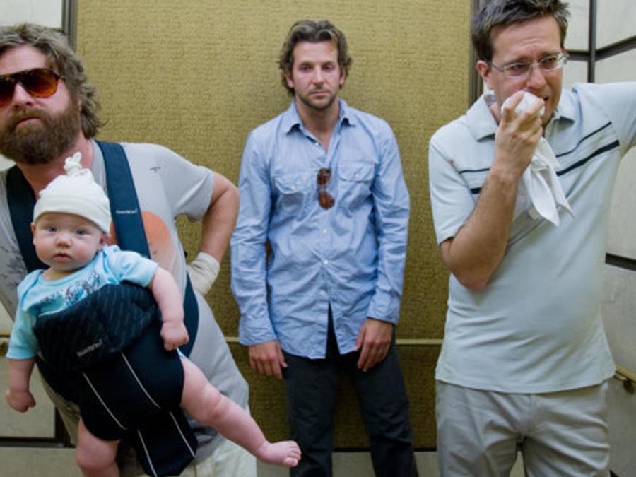 Grant Holmquist en una escena de The Hangover