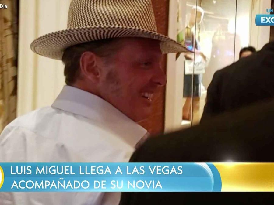 Luis Miguel en Las Vegas para sus presentaciones de septiembre 2019