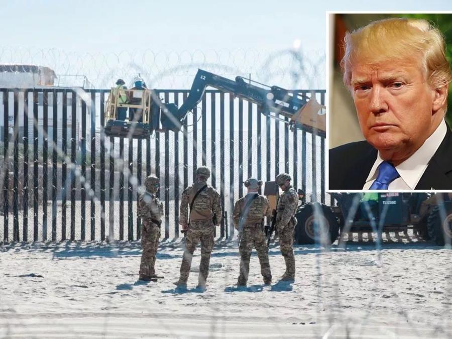 Sin suficiente dinero para el muro de Trump