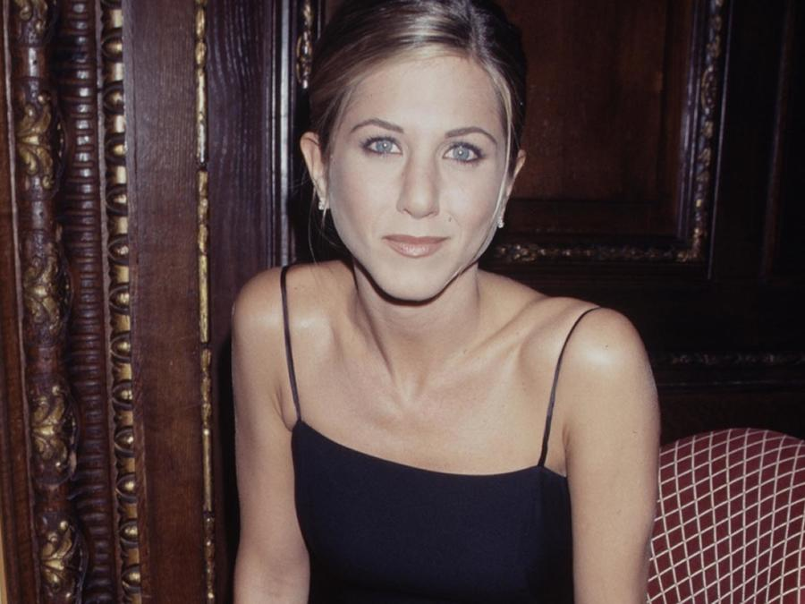 La actriz Jennifer Aniston en 1995
