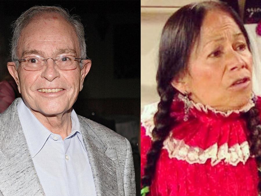 """María Elena Velasco """"La india María"""" y Raúl Velasco"""