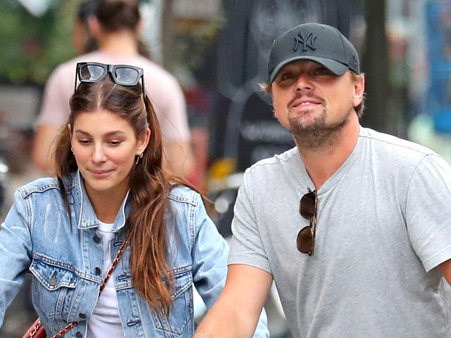 Camila Morrone y Leonardo DiCaprio