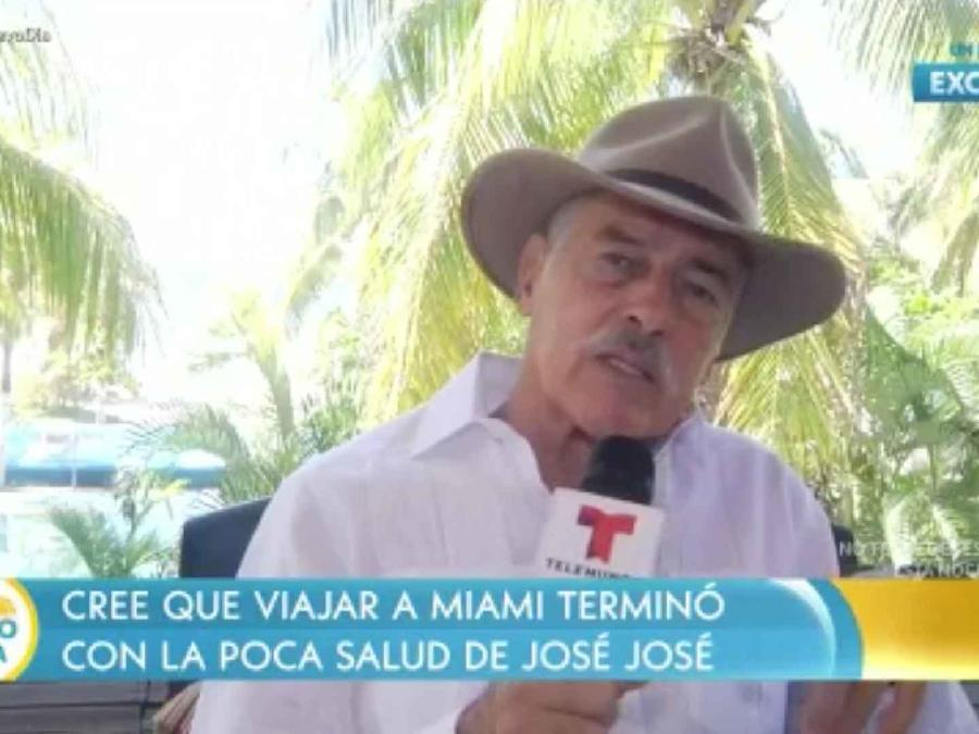 Andrés García habla en exclusiva con Un Nuevo Día sobre la muerte de José José