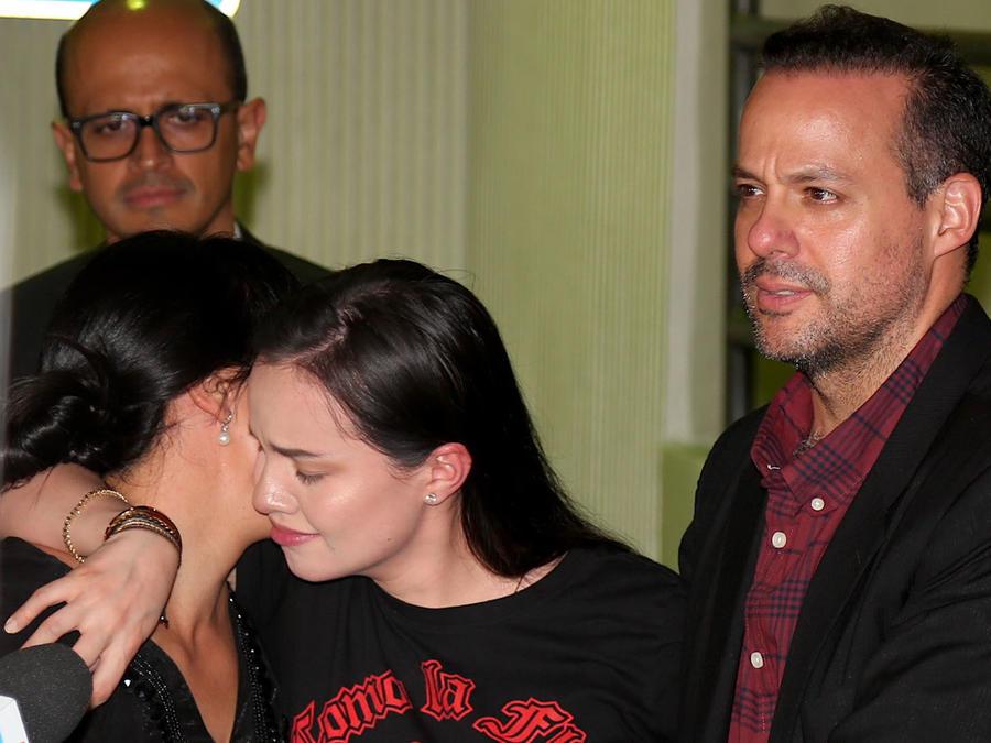 Marysol, Sarita y José Joel Sosa