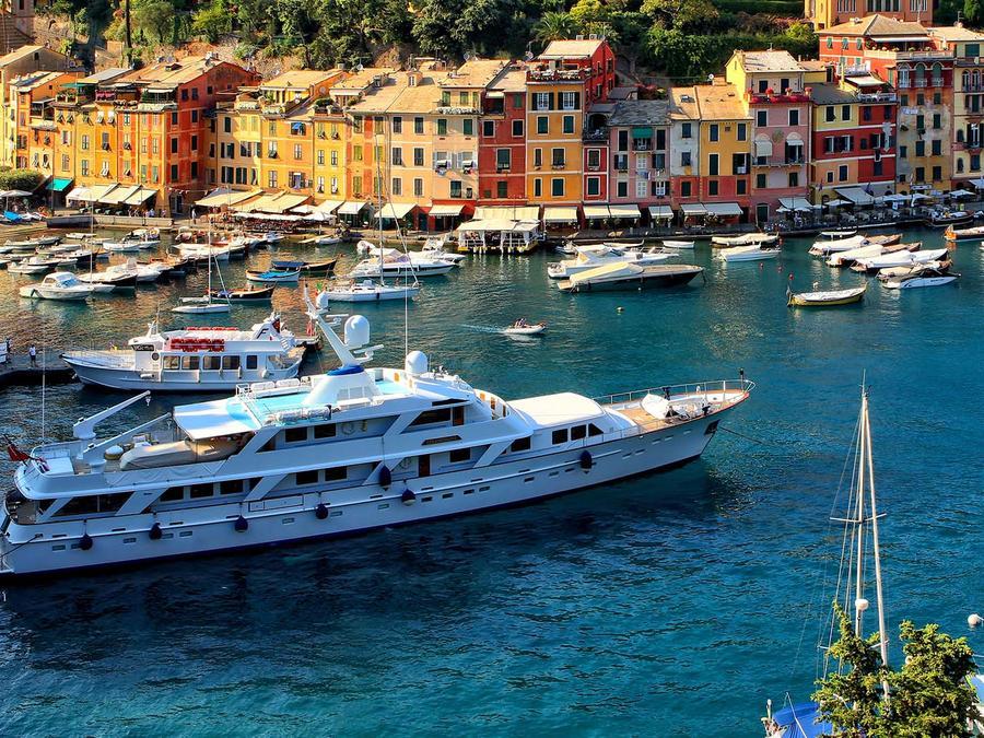 Yate en Portofino, Italia