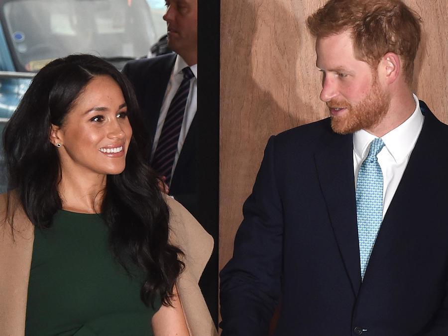 Meghan Markle y el príncipe Harry en los WellChild awards