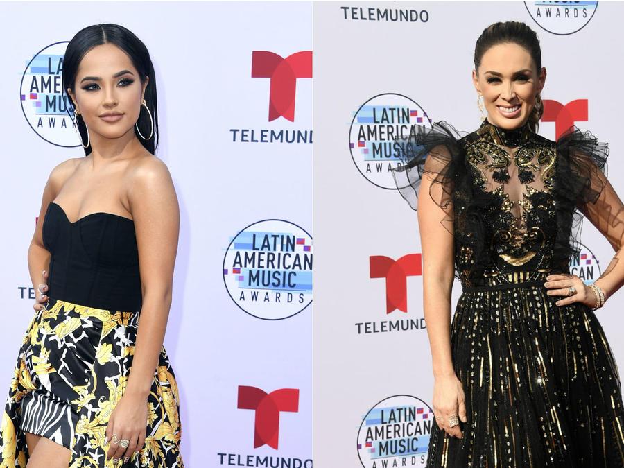 Becky G y Jacky Bracamontes en los Latin AMAs 2019