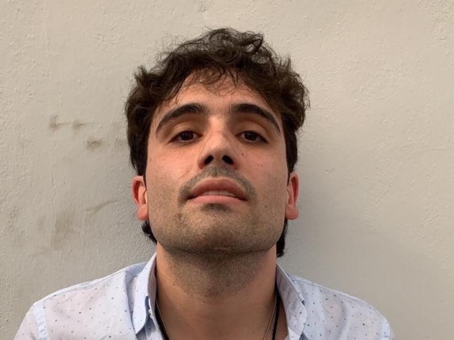 Ovidio Guzmán, hijo de 'El Chapo' Joaquín Guzmán, detenido y después liberado este jueves en Sinaloa.