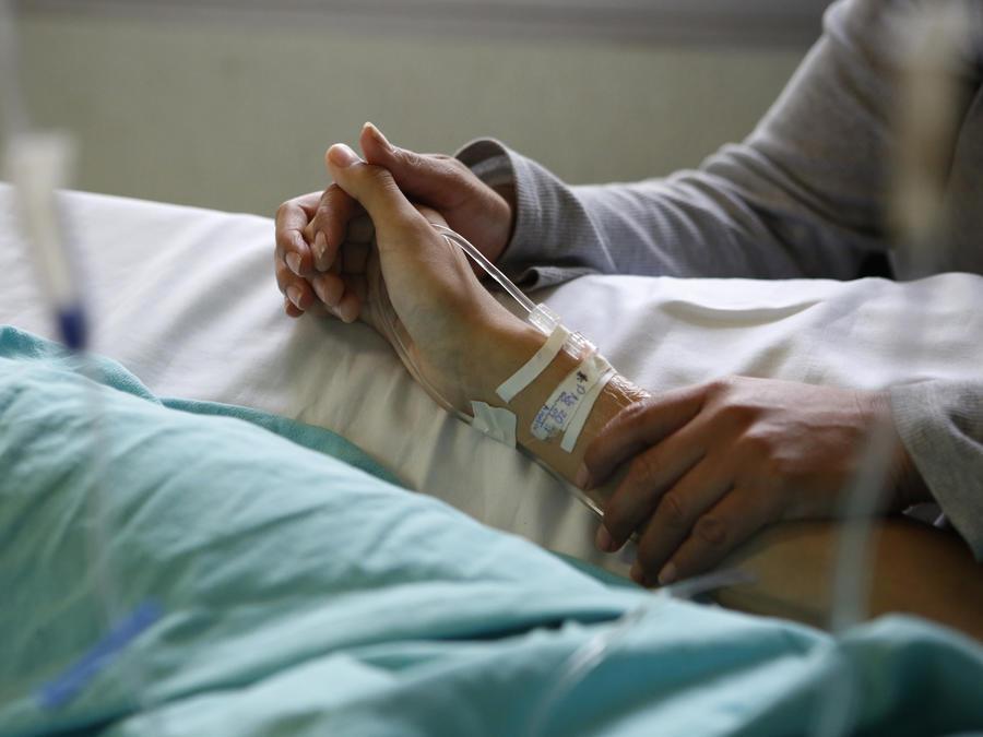 Imagen de archivo de un hospital en México.