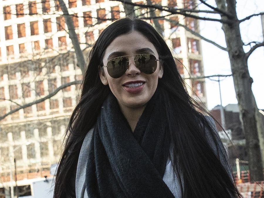Emma Coronel Aispuro en Nueva York