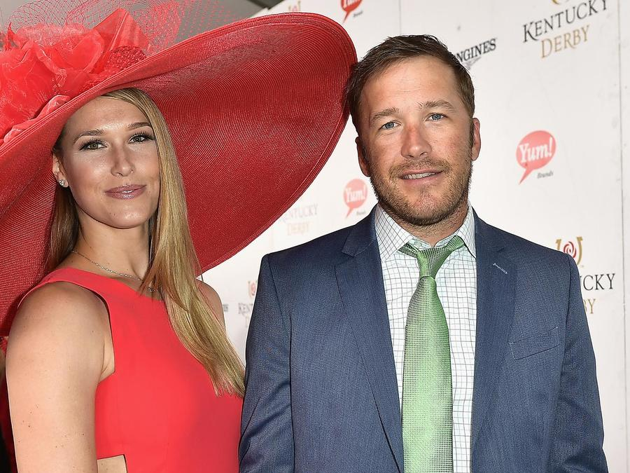 Morgan Beck y Bode Miller en el Derby de Kentucky
