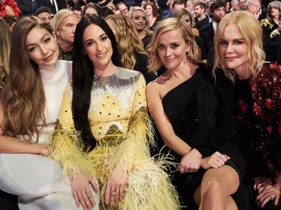 Gigi Hadid, Kacey Musgraves, Reese Witherspoon y Nicole Kidman en los CMAs 2019