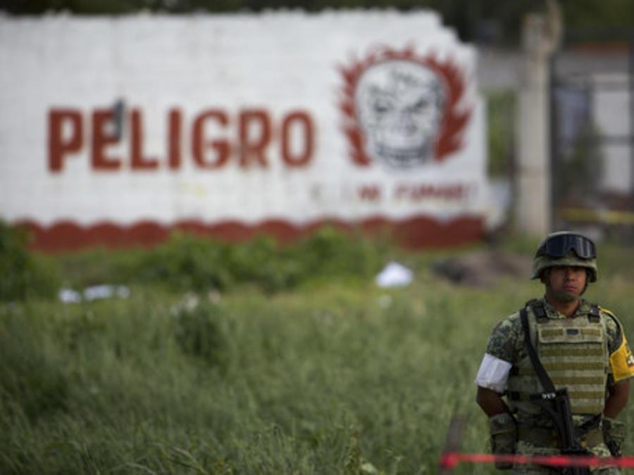 Un mercado el Tultepec donde hubo una explosión por pirotecnia, en julio de 2018