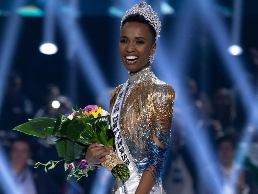 Zozibini Tunzi, Miss Sudafrica 2019, Coronada como Reina, Miss Universo 2019