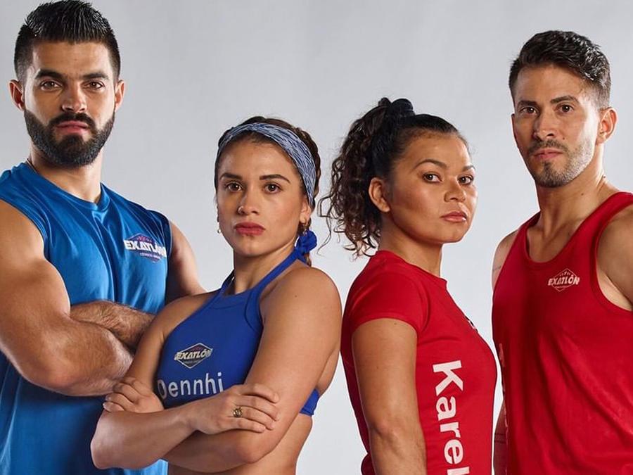 Chuy Almada, Dennhi Callu, Karely López y Tommy Ramos