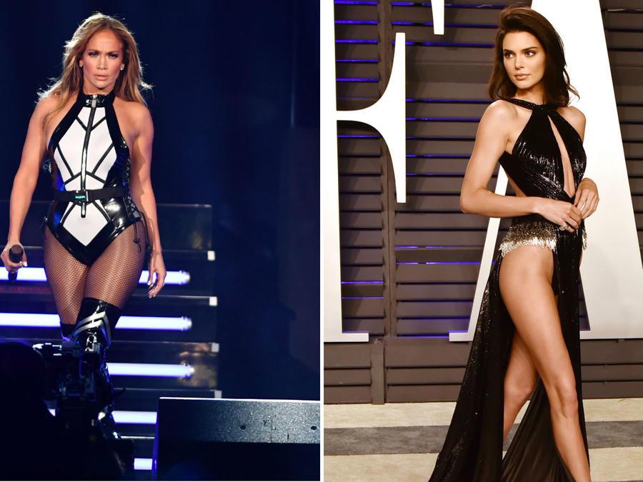 Jennifer Lopez y Kendall Jenner