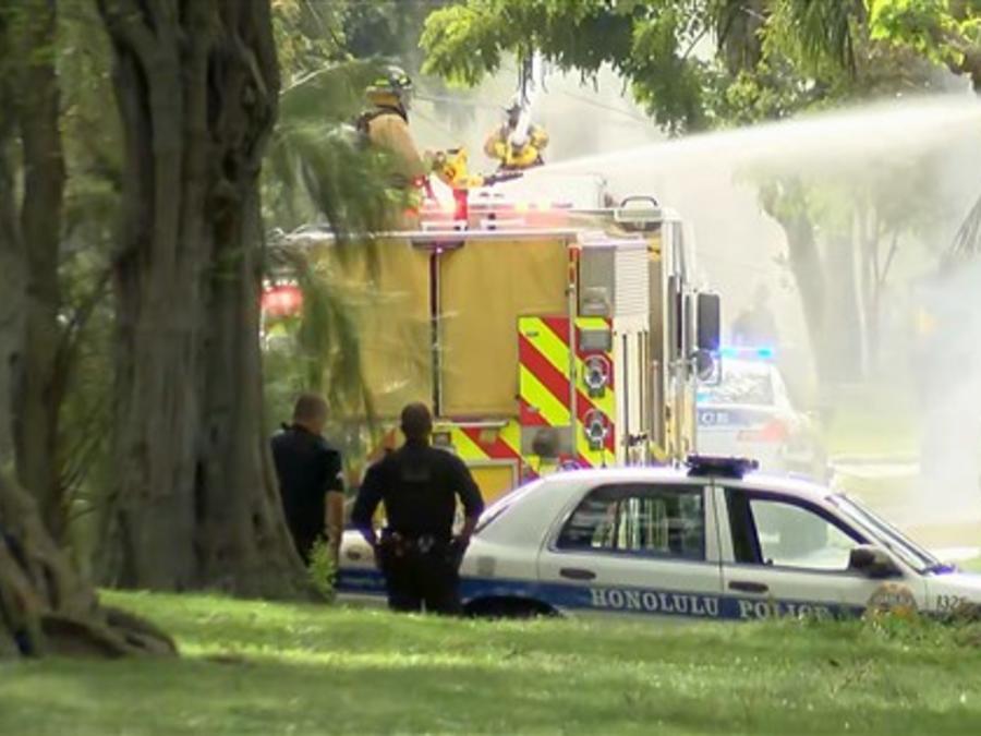 Servicios de emergencia responden a un tireoteo Honolulú