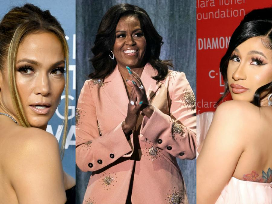 Michelle Obama, Jennifer Lopez, Cardi B