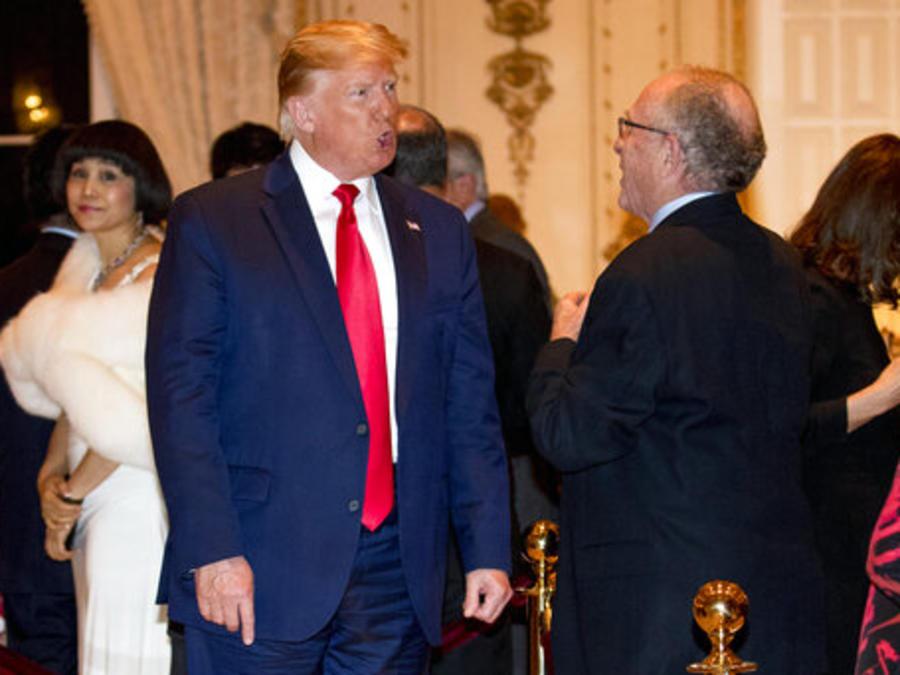 Donald Trump,Alan Dershowitz