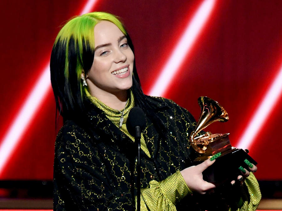 Grammys 2020: Billie Eilish wins song of the year for 'Bad Guy""