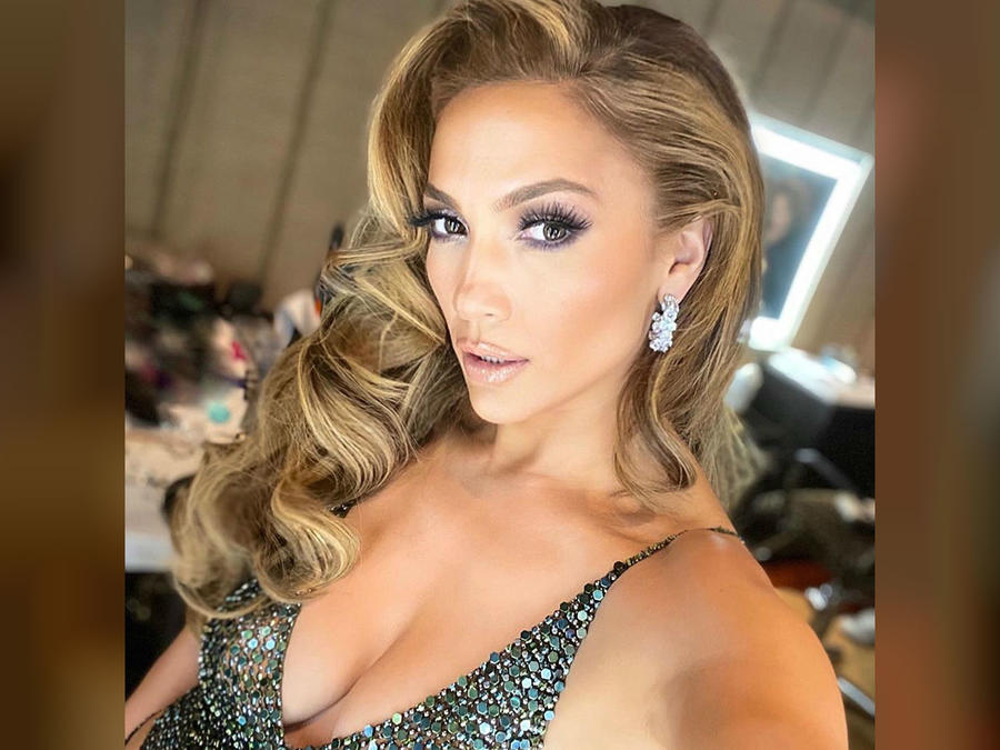 Jennifer Lopez en after-party de Oscars 2020