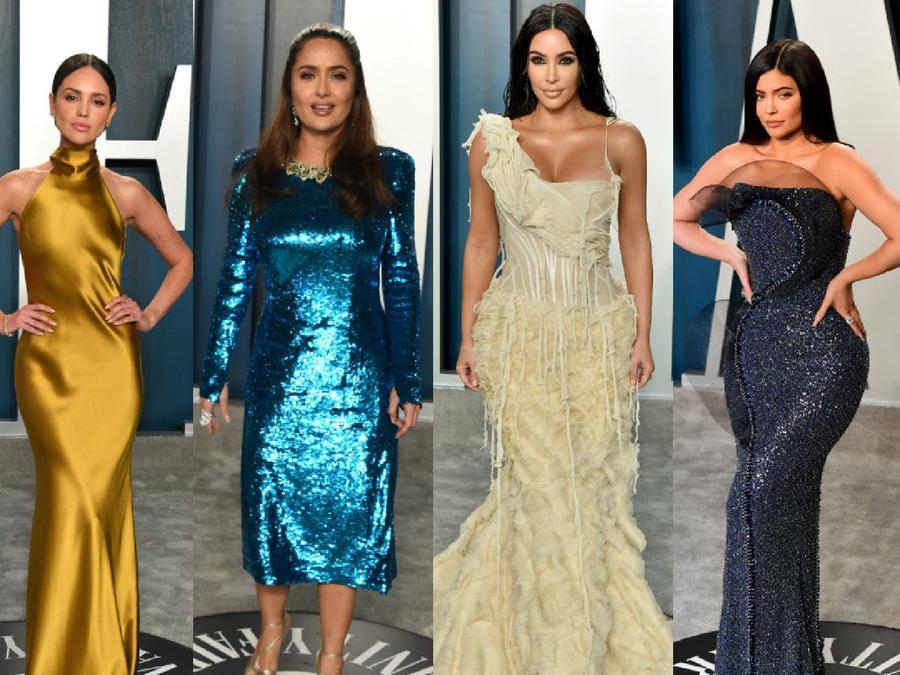 Eiza González, Salma Hayek, Kim Kardashian, Kylie Jenner, Hailey Baldwin