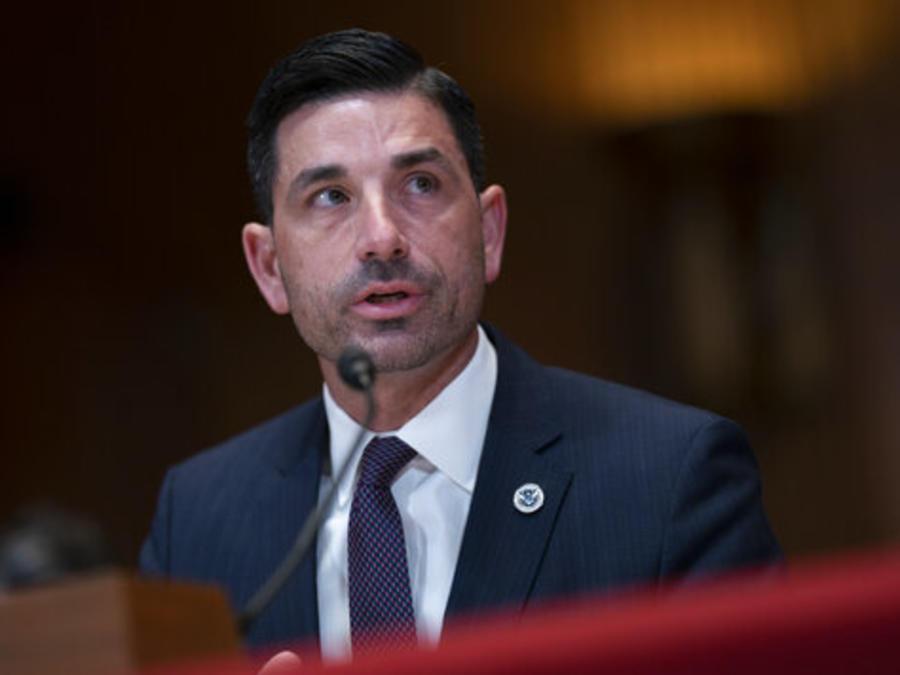 Chad Wolf testifica en el Senado