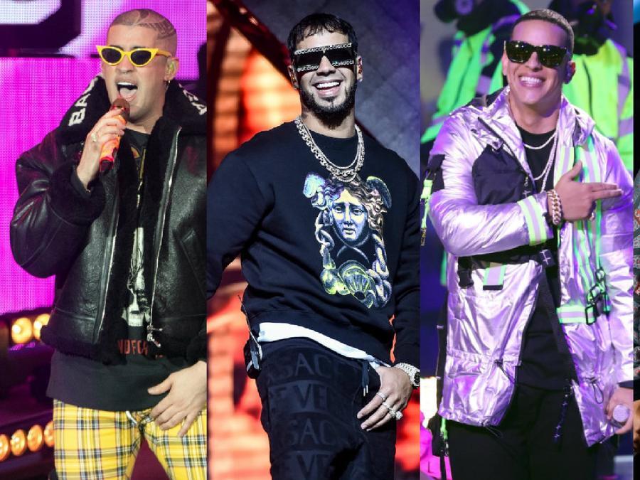 Bad Bunny, Anuel AA, Daddy Yankee, Ozuna