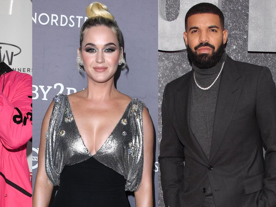 DJ Snake, Katty Perry, Drake