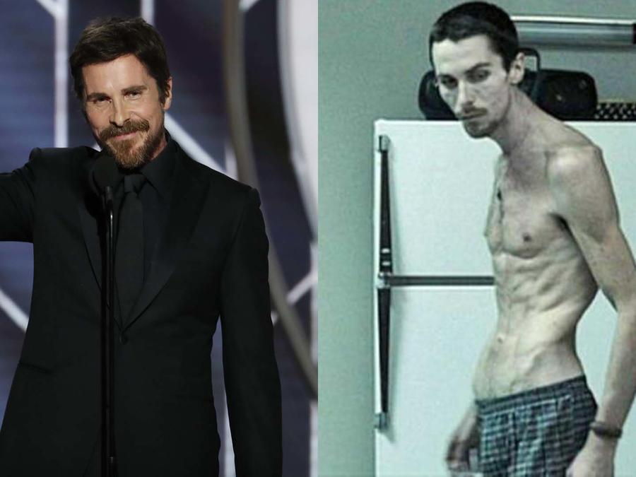 "Christian Bale en ""The Machinist"""