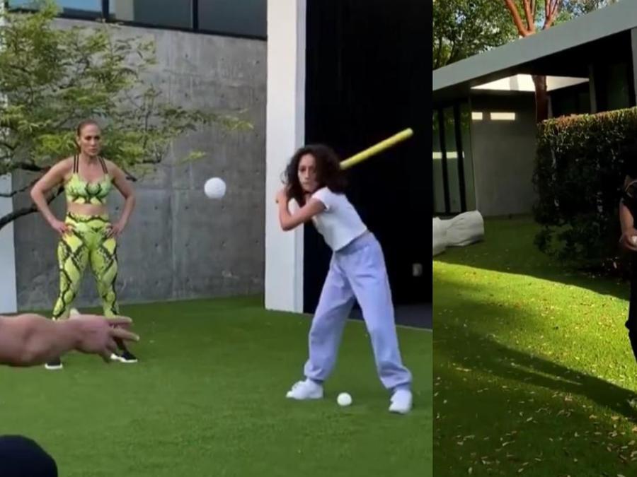 Alex Rodriguez, Jennifer Lopez, y Emme