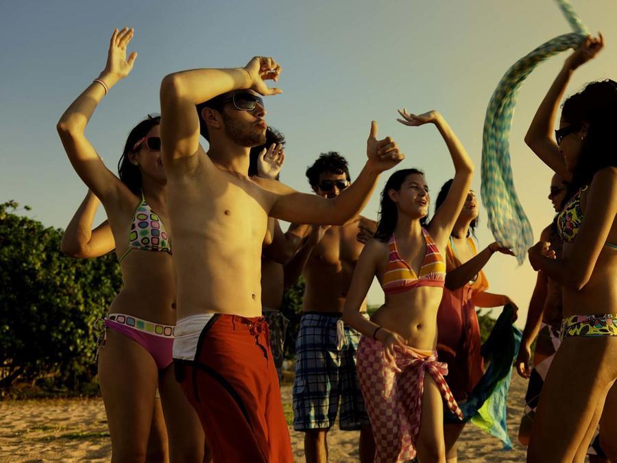 jóvenes vacaciones