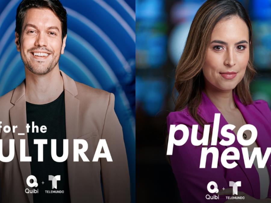 "Telemundo Launches ""Pulso News"" and ""for the Cultura"" on Quibi"
