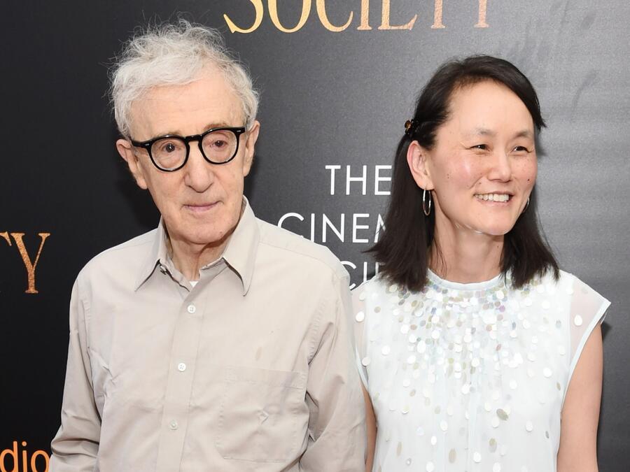 Woody Allen y Soon-Yi Previn