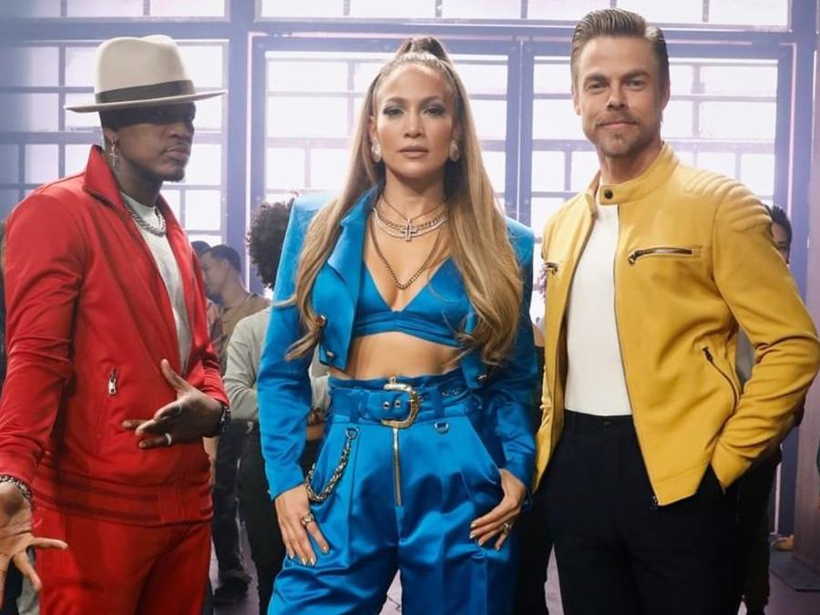 Jennifer Lopez, Derek Hough, Nee Yo