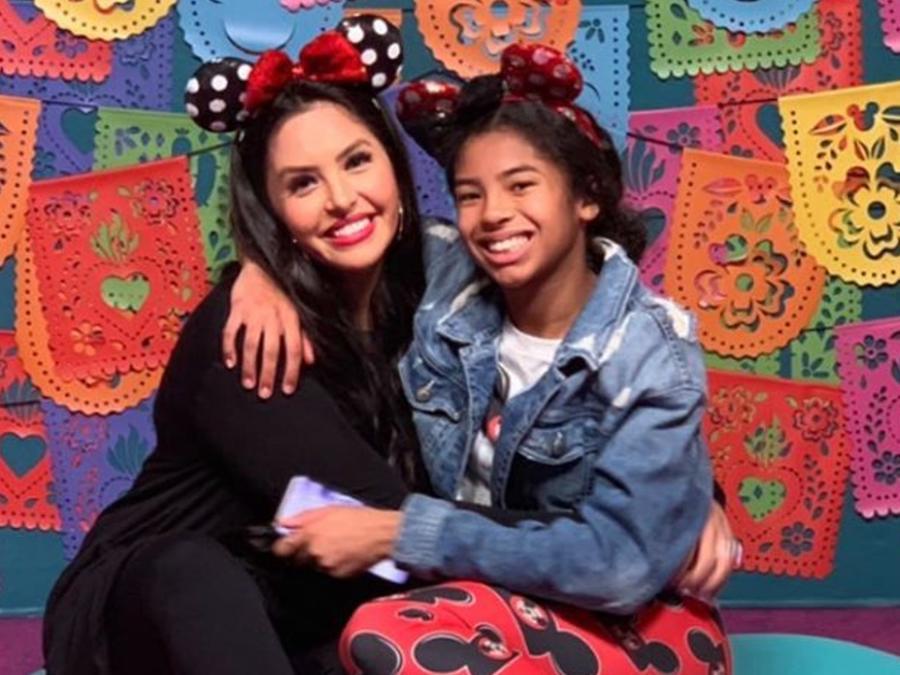 Vanessa y Gianna Bryant