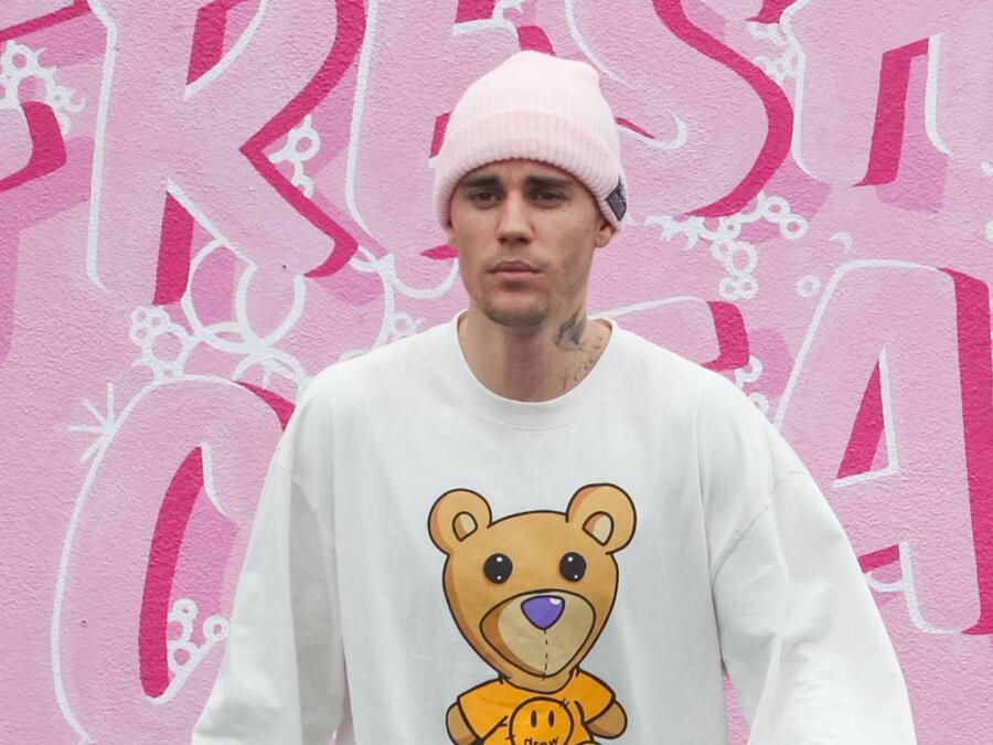 Justin Bieber en Los Ángeles, marzo 2020