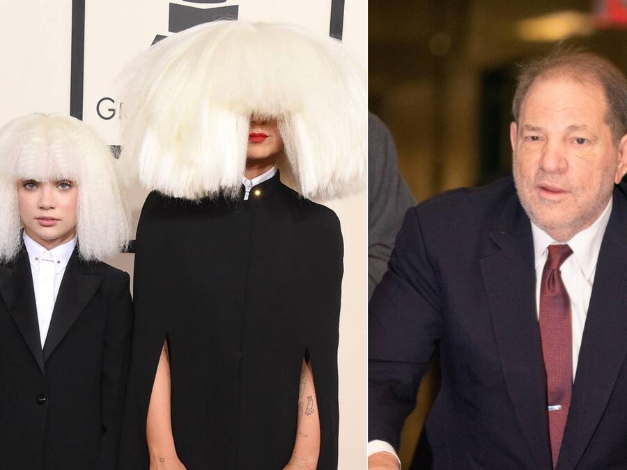 Maddie Ziegler, Sia, Harvey Weinstein